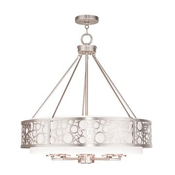 Livex Lighting Avalon 8 Light Chandelier