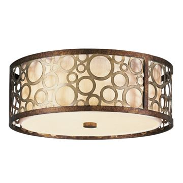 Livex Lighting Avalon Round Flush Ceiling Light