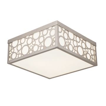 Livex Lighting Avalon Square Flush Ceiling Light