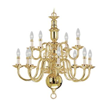 Livex Lighting Beacon Hill 12 Light Chandelier