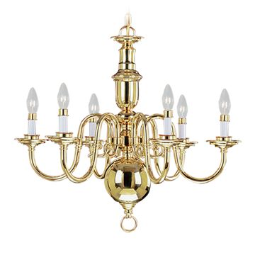 Livex Lighting Beacon Hill 6 Light Chandelier