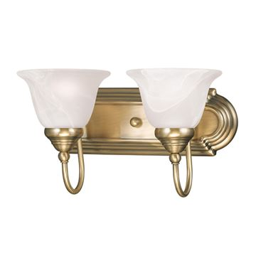 Livex Lighting Belmont 2 Light Vanity Light