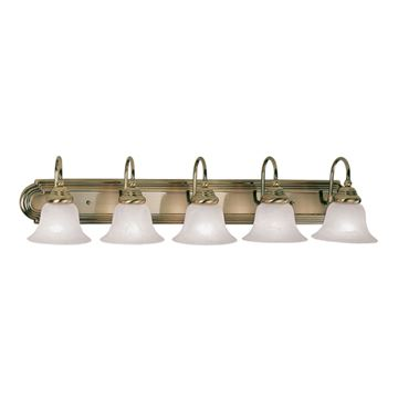 Livex Lighting Belmont 5 Light Vanity Light