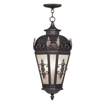Livex Lighting Berkshire Outdoor 27 1/4 Inch Chain Hang Light