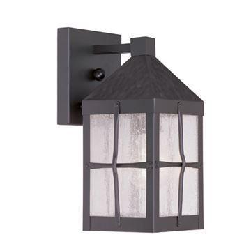 Livex Lighting Brighton Outdoor 11 1/4 Inch 1 Light Wall Lantern