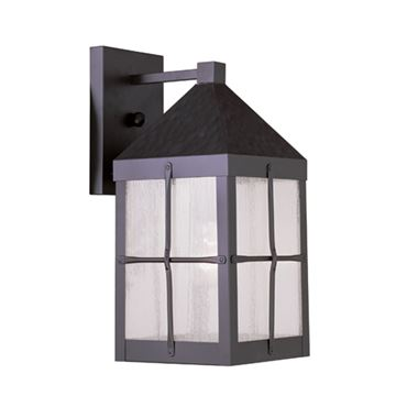 Livex Lighting Brighton Outdoor 14 3/4 Inch 1 Light Wall Lantern