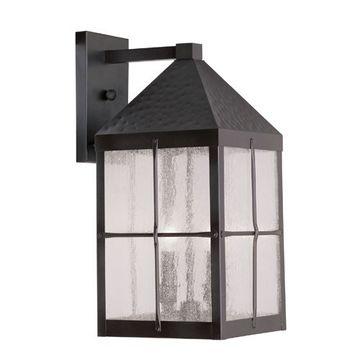 Livex Lighting Brighton Outdoor 18 1/2 Inch 1 Light Wall Lantern