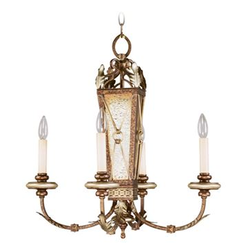 Livex Lighting Bristol Manor 4 Light 24 Inch Chandelier