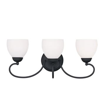 Livex Lighting Brookside 3 Light Vanity Light