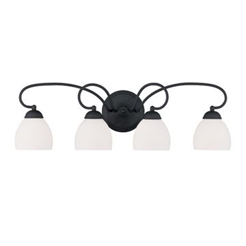 Livex Lighting Brookside 4 Light Vanity Light