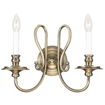 Livex Lighting Caldwell 2 Light Wall Sconce
