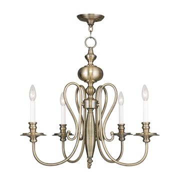 Livex Lighting Caldwell 5 Light Chandelier