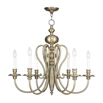 Livex Lighting Caldwell 6 Light Chandelier