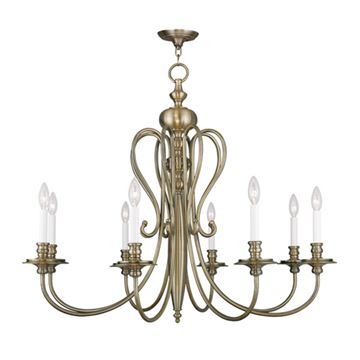 Livex Lighting Caldwell 8 Light Chandelier