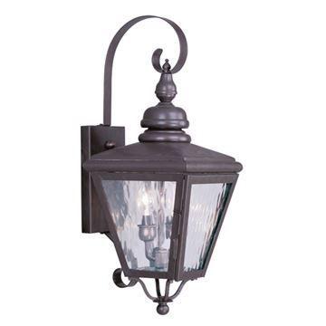Livex Lighting Cambridge Outdoor 2 Light Wall Lantern