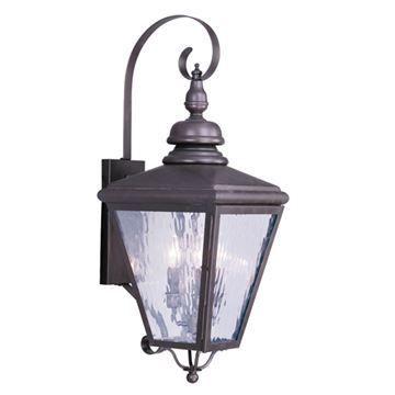 Livex Lighting Cambridge Outdoor 3 Light Wall Lantern