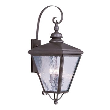 Livex Lighting Cambridge Outdoor 4 Light Wall Lantern