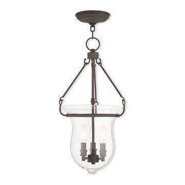 Livex Lighting Canterbury 22 1/2 Inch Bell Pendant Light