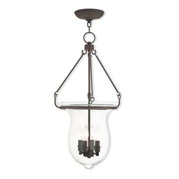 Livex Lighting Canterbury 27 Inch Bell Pendant Light