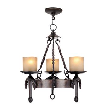 Livex Lighting Cape May 19 Inch Chandelier