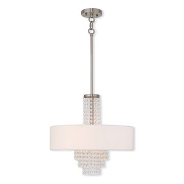 Livex Lighting Carlisle 4 Light Chandelier