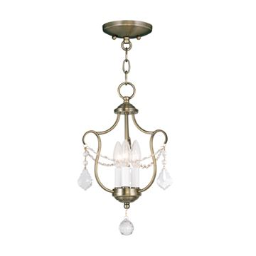 Livex Lighting Chesterfield Convertible Chain or Ceiling Mount