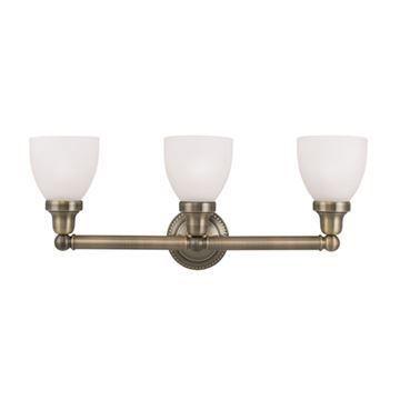 Livex Lighting Classic 3 Light Vanity Light