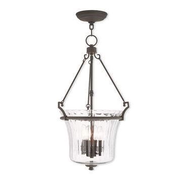 Livex Lighting Cortland 15 1/2 Inch Pendant Light