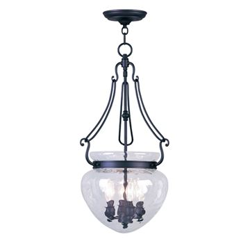 Livex Lighting Duchess 14 Inch Chain Hang Foyer Light