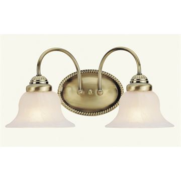 Livex Lighting Edgemont 2 Light Vanity Light