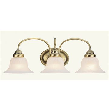 Livex Lighting Edgemont 3 Light Vanity Light