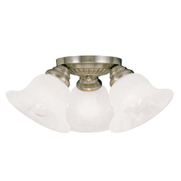 Livex Lighting Edgemont Flush Ceiling Mount