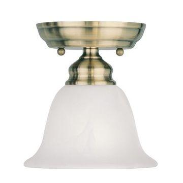 Livex Lighting Essex Semi Flush Ceiling Mount Light