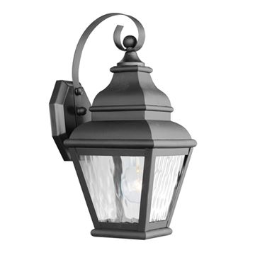 Livex Lighting Exeter Outdoor 1 Light Wall Lantern With Water Glass