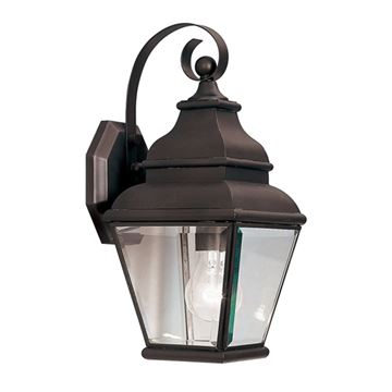 Livex Lighting Exeter Outdoor 1 Light Wall Lantern