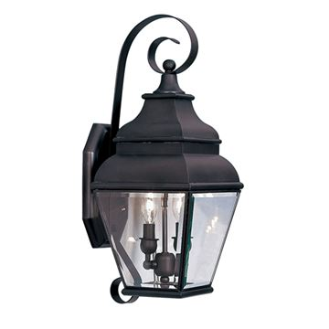 Livex Lighting Exeter Outdoor 2 Light Wall Lantern