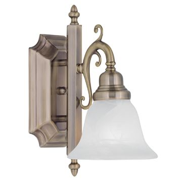 Livex Lighting French Regency 1 Light Vanity Light