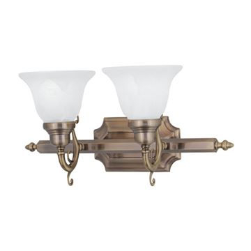 Livex Lighting French Regency 2 Light Vanity Light