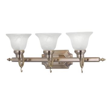 Livex Lighting French Regency 3 Light Vanity Light