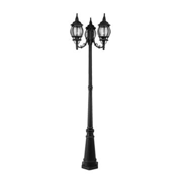 Livex Lighting Frontenac Outdoor 3 Head Light Post