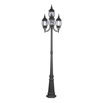 Livex Lighting Frontenac Outdoor 4 Head Light Post