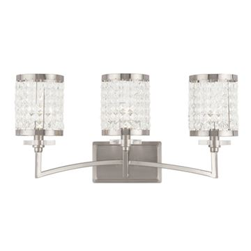 Livex Lighting Grammercy 3 Light Vanity Light