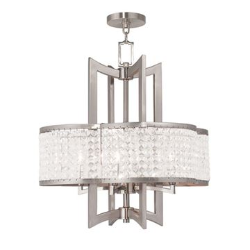 Livex Lighting Grammercy 4 Light Chandelier