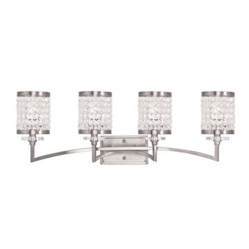 Livex Lighting Grammercy 4 Light Vanity Light