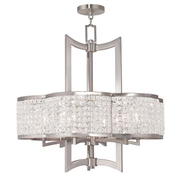 Livex Lighting Grammercy 6 Light Chandelier