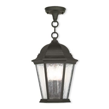 Livex Lighting Hamilton 14 Inch Outdoor Chain Hang Lantern