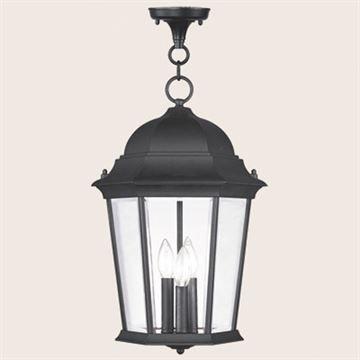 Livex Lighting Hamilton 19 Inch Outdoor Chain Hang Light