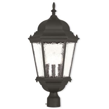 Livex Lighting Hamilton 27 Inch Outdoor Post Top Lantern
