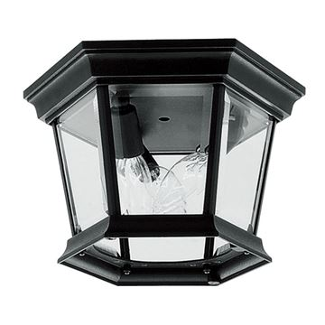 Livex Lighting Hamilton Hexagon Flush Mount Light