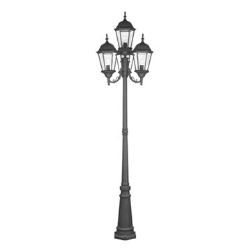 Livex Lighting Hamilton Outdoor 4 Head Post Light